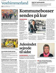 17 December 2014 - Vesthimmerland lokalavis anmelder Danish Skin Cares bog: Sund Krop Smuk Hud. Og fantastisk udstråling  Læs mere her: www.sundkropsmukhud.dk