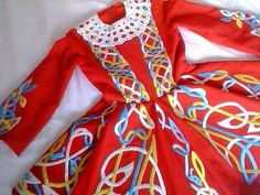 Gabardine style costume