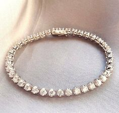 eca94e93e1cc62 6.50 CT Round Diamond Tennis Bracelet 7