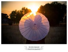 Sunset & Umbrella
