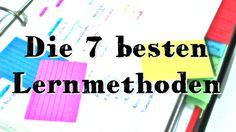 Lernmethoden: Was WIRKLICH sofort funktioniert - So wurde ich vom Sitzenbleiber zum Einserschüler #listpost