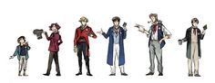 Gavroche, Courfeyrac, Enjolras, Combeferre, Jehan and Joly movie costumes!