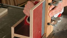 This stable, over-the-fence tenoning jig takes advantage of the slick nature of phenolic plywood as it carries the workpiece smoothly along the rip fence and through the blade. Toggle clamps …