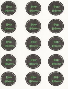 Get Your Crap Together: 31 Days of Halloween: Free Cupcake Toppers