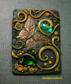 Olive Garden ACEO with Butterfly by MandarinMoon.deviantart.com on @deviantART