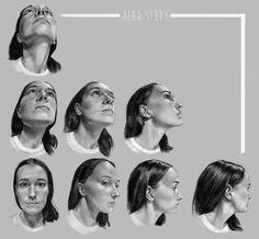 ArtStation - Head study, Claire Gary