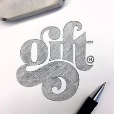 I am a sucker for a great lower case 'g'. Type by @anthonyjhos - #typegang - free fonts at typegang.com   typegang.com #typegang #typography