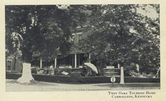 Twin Oaks Tourists Home, Carrollton, Kentucky Carroll County, My Old Kentucky Home, Twins, History, Movie Posters, Gemini, Film Poster, Historia, Film Posters