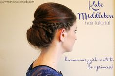 Kate Middleton Hair Tutorial