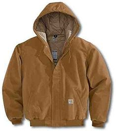 Carhartt Men's Big & Tall Flame Resistant Midweight Duck Active Jacket Review