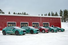 Jaguar tests all-electric I-PACE prototype in freezing Arctic