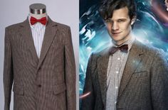 Who is Doctor Dr. Eleventh Doctor Who Jacket Suit Costume Version A high quality Cosplay Costume Tailor created in Daily Use customary, All ...