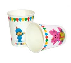 Pocoyo  glasses for your party.