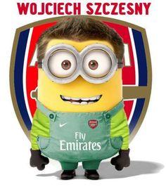Arsenal Goalkeeper Szczesny Minion