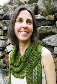 Free Knitting Pattern - Designer Shawl Scarf