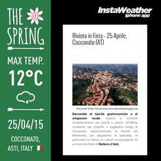 Made with @instaweatherpro Free App! #instaweather #instaweatherpro #weather #wx #cocconato #italia #day #it