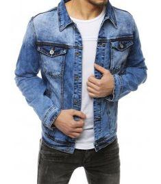 Modrá pánska džínsová bunda Denim, Jackets, Fashion, Down Jackets, Moda, Fashion Styles, Fashion Illustrations, Jacket, Jeans
