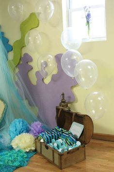 Mermaids / Under The Sea featuring Dora Mermaid Birthday Party Ideas | Photo 1 of 103 | Catch My Party