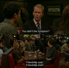 friendship over!
