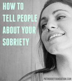 Telling people about your new sober lifestyle can make you anxious or nervous. Read our post for tips! #addiction #recovery #sobriety