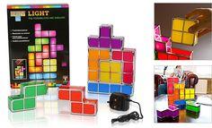 Lámpara Tetris
