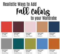 Fall 2017 Pantone colors and how to add them to your fall wardrobe! Realistic Ways to Add Fall Color Trends to Your Wardrobe http://getyourprettyon.com/realistic-ways-add-fall-color-trends-wardrobe/?utm_campaign=coschedule&utm_source=pinterest&utm_medium=Alison%20Lumbatis%20%7C%20Get%20Your%20Pretty%20On&utm_content=Realistic%20Ways%20to%20Add%20Fall%20Color%20Trends%20to%20Your%20Wardrobe