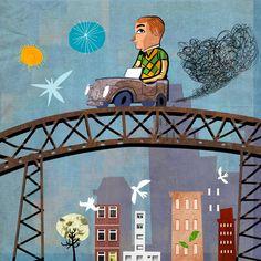 Ilustração Crianças em Ilustração Servido