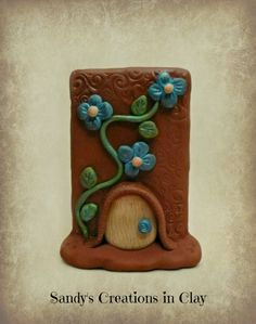 Fairy Doors, Polymer Clay Fairy Door