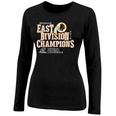 Don't miss a second of celebrating your Washington Redskins' dominating performance to clinch the 2012 NFC East Division title with this stylish tee!