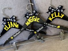 Cheer Spirit Hanger for uniforms.Personalized Cheer Spirit Hanger for uniforms. Cheer Sister Gifts, Cheer Team Gifts, Dance Team Gifts, Cheer Camp, Cheer Coaches, Cheerleading Gifts, Cheer Party, Cheer Dance, Cheerleader Gift