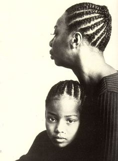 NINA SIMONE | with daughter Lisa