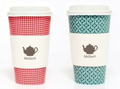 mallard tea to-go cups