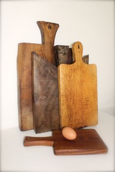 vintage cutting boards: the Polished Pebble