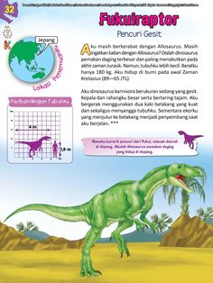 Buku Pintar Ensiklopedia Dinosaurus dan Binatang Purba Katabaca.com Stories For Kids, Jurassic World, Ipa, Dinosaurs, Studying, Homeschool, Knowledge, Horse, Science