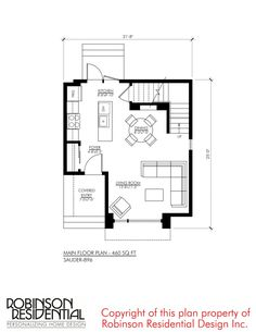 Contemporary Sauder-896 - Robinson Plans Duplex House Plans, Luxury House Plans, Modern House Plans, Luxury Houses, Sims Building, Building A House, Building Ideas, Sakura House, House Construction Plan