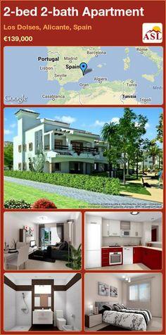 2-bed 2-bath Apartment in Los Dolses, Alicante, Spain ►€139,000 #PropertyForSaleInSpain