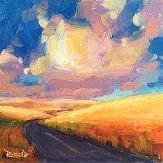 """""""Sunset Road"""" - Cathleen Rehfeld"""