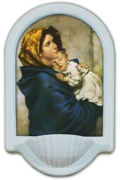 Madonna of the Streets Holy Water Font Click picture to see on #catholictothemax