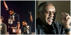 Happy Birthday to Tommie Smith (born June 6, 1944)...former track & field athlete and wide receiver in the American Football League. At the 1968 Summer Olympics, Smith won the 200-meter dash finals in 19.83 seconds – the first time the 20 second barrier was broken. His Black Power salute with John Carlos atop the medal podium caused controversy at the time as it was seen as politicizing the Olympic Games. It remains a symbolic moment in the history of the American Civil Rights Movement.