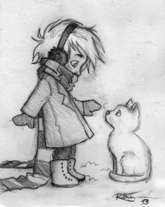Winter by CaptBexx.deviantart.com on @deviantART Little Draco, cute :)