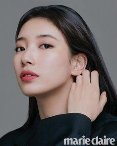 Suzy on the Cover of Marie Claire Korea March 2020 Korean Girl, Asian Girl, Korean Idols, Instyle Magazine, Cosmopolitan Magazine, Bae Suzy, Korean Celebrities, Korean Actresses, Korean Actors
