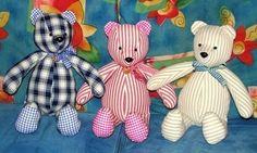 Découvrez de magnifiques tutoriels pour confectionner soi-même un ours en tissu, les tutos en images. De superbes nounours réalisés par nos blogueuses créatives.. Blog : Les lubies d'Annabelle - Voir tutoriel faire un ours Tilda