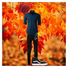 """""""Fall Outfit"""" by itsreynaoutside on Polyvore featuring AMIRI, LE3NO, Vans, Coal, Prada, Tod's, men's fashion and menswear"""
