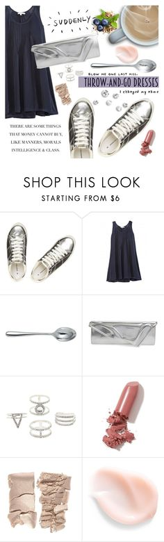 """Throw-and-Go Dresses"" by orietta-rose ❤ liked on Polyvore featuring Dorothy Perkins, Calypso St. Barth, Alessi, Christian Louboutin, Charlotte Russe, LAQA & Co., fashionset and easydresses"