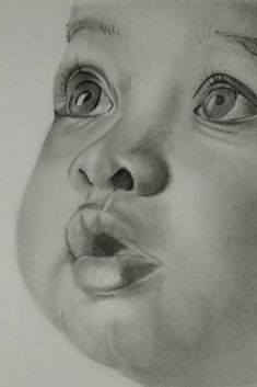 """""""Drawing is the cornerstone of the graphic, plastic arts. Drawing is the coordination of - Art Sketches Abstract Pencil Drawings, Cool Art Drawings, Realistic Drawings, Drawing Faces, Creative Pencil Drawings, Cute Baby Drawings, Beautiful Pencil Drawings, Beautiful Sketches, Horse Drawings"""