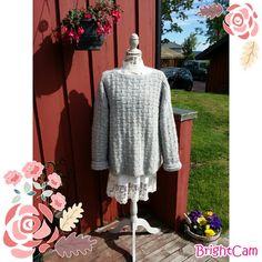 Elisabeth.H hobbyside: Heklet lilla kjole | Lilla kjole
