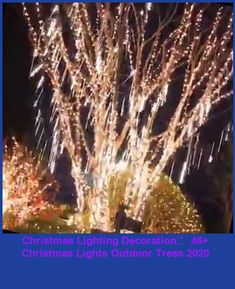 Snow Fall LED Lights christmas lights outdoor trees Christmas Lighting Decoration🎄 46+ Christmas Lights Outdoor Trees 2020