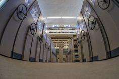. Depósito de Revistas H1. Detalle Experimental, Stairs, Home Decor, Special Library, Science Area, Parking Lot, Zaragoza, Classroom, Journals