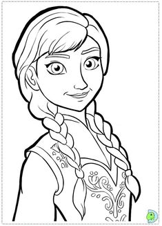 Frozen Anna Pic coloring pages printable - http://designkids.info/frozen-anna-pic-coloring-pages-printable.html  #designkids #coloringpages #kidsdesign #kids #design #coloring #page #room #kidsroom
