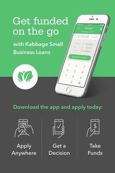 Interested in financing for your business?